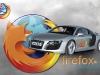 Audi R8 Firefox